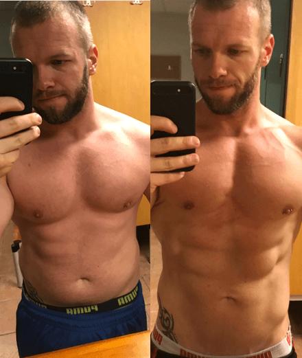 Volumendiät für Männer